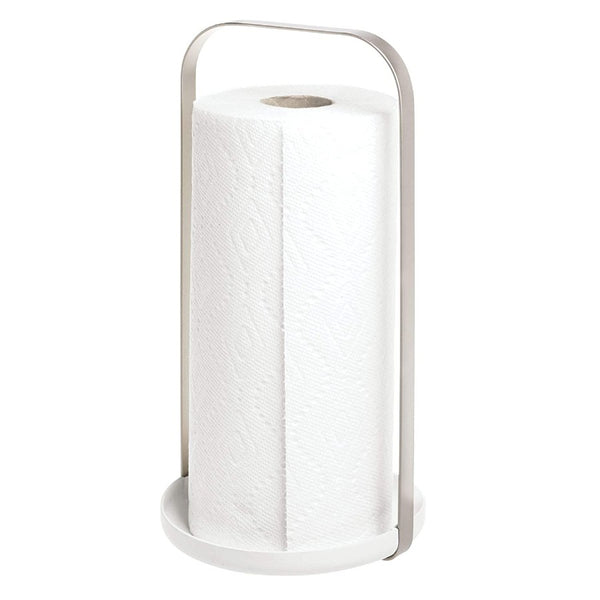 Austin Paper Towel Holder - White Nickel