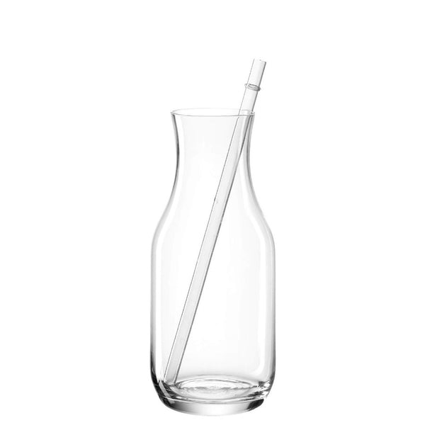 Estate Carafe with Glass Straw