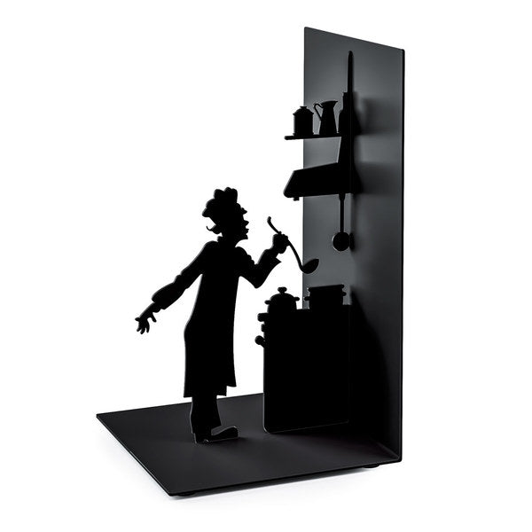 Metallic Bookend - Le Chef