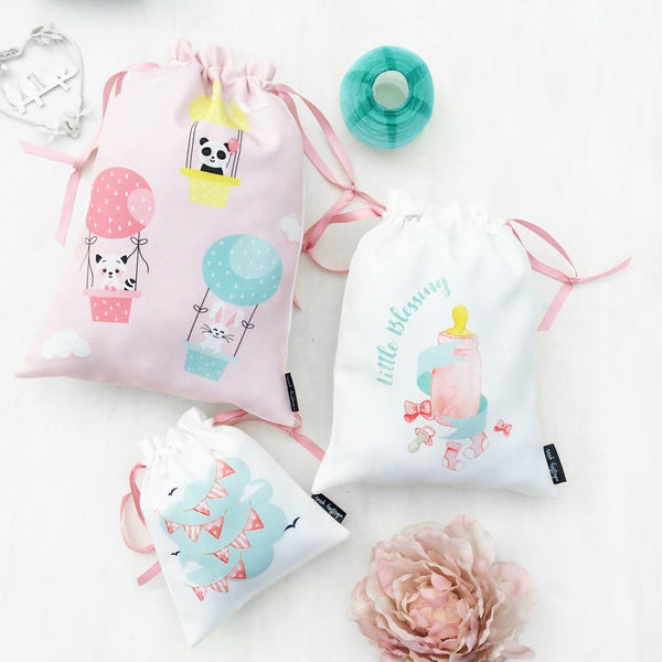 Baby Girl Bags, Set of 3