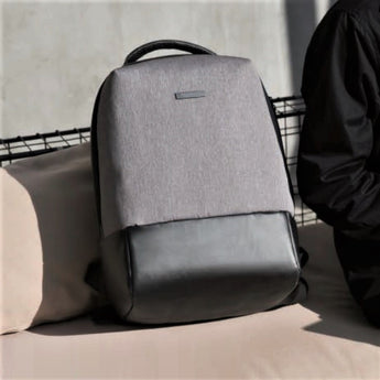 Essential Laptop Backpack - Grey