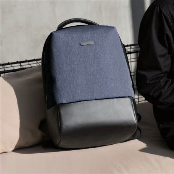 Essential Laptop Backpack - Blue