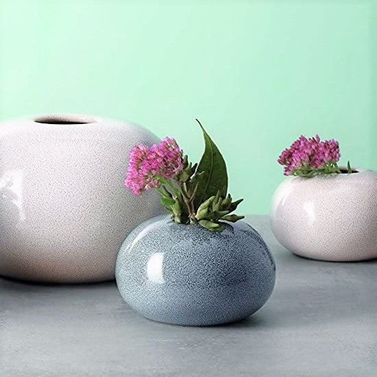 Seasons Ball Vase Small - Denim