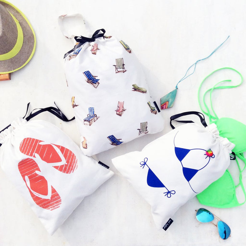 Beachgoers Bags, Set of 3