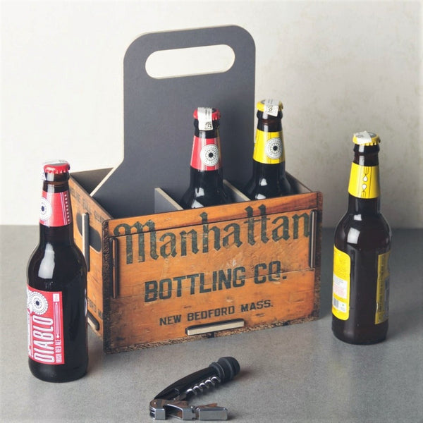 Bottle Carrier - Manhattan Co.