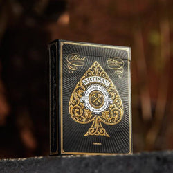 Artisan Black Playing Cards