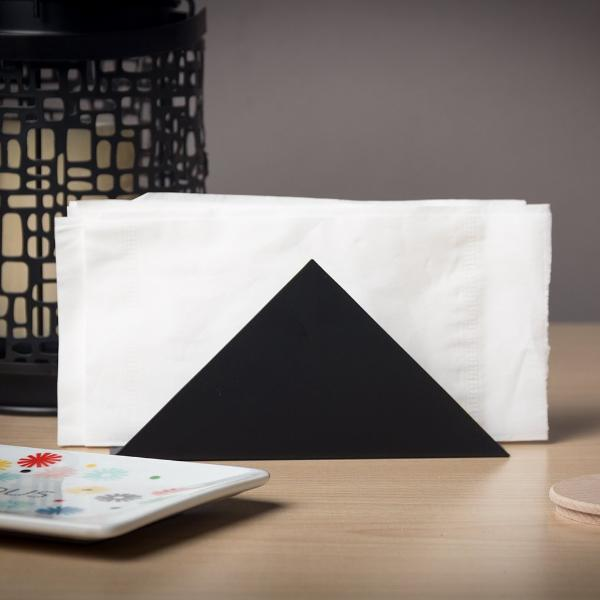 Triangle Napkin Holder - Black