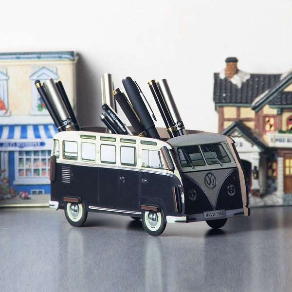 Pen Holder - Black VW Van