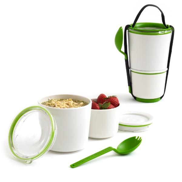 Sling Lunch Box - White Lime