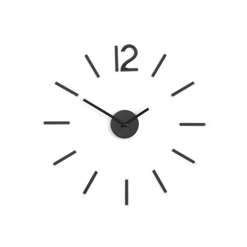 Blink Wall Clock - Black