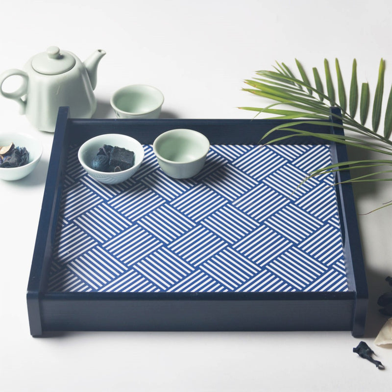 Blue Nile Serving Tray - Square