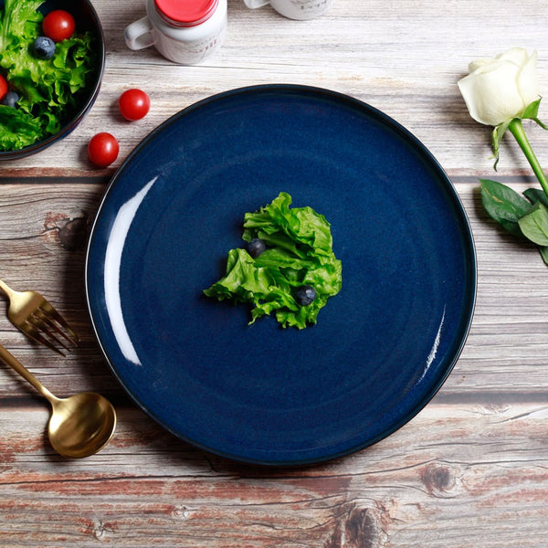 Seasons Dinner Plate - Midnight Blue