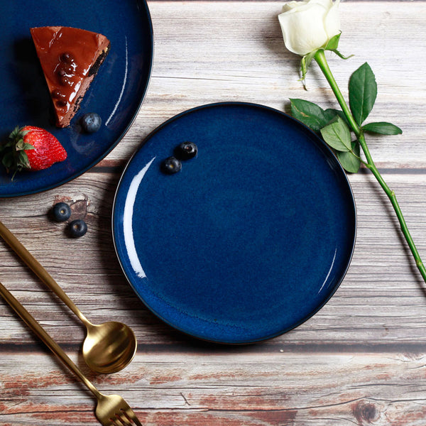 Seasons Quarter Plate - Midnight Blue