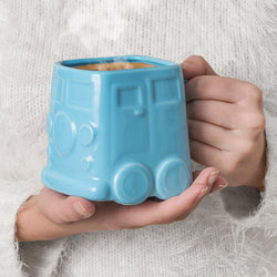 Ceramic Van Mug - Blue