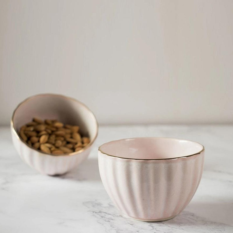 Blush Small Bowls, Set of 2