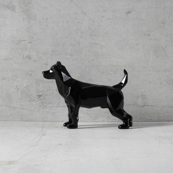 Bolt Dog Sculpture - Black