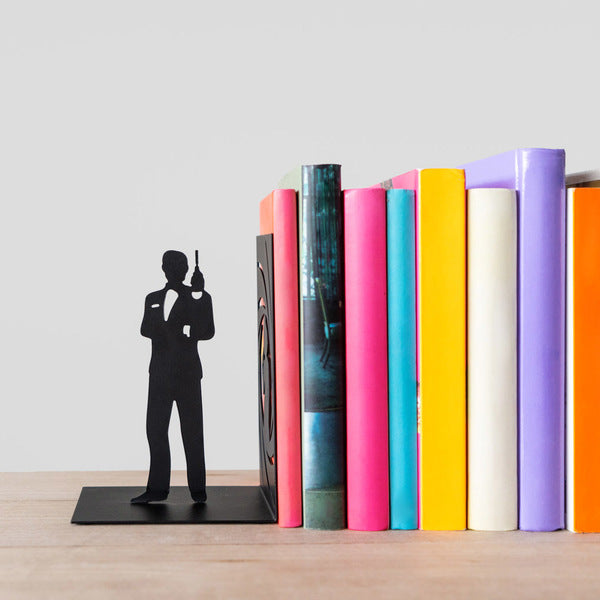 Metallic Bookend - Bond