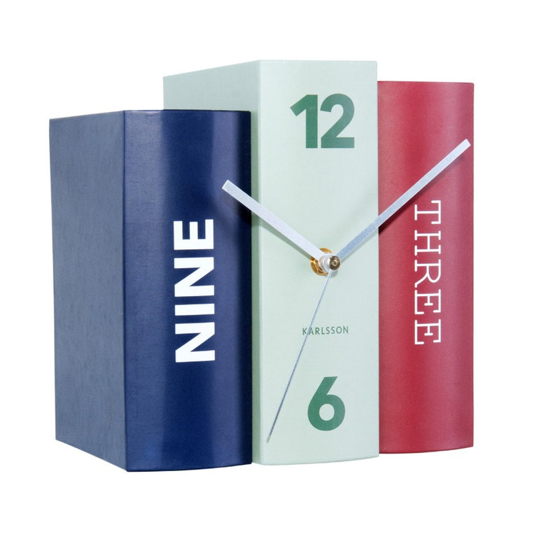 Books Table Clock