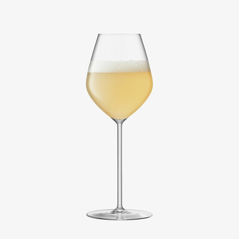 Borough Tulip Champagne Glasses, Set of 4