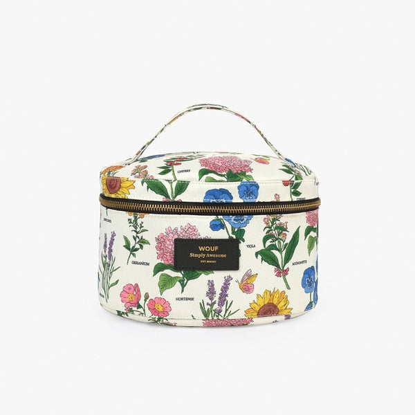 Botanical Large Makeup Bag