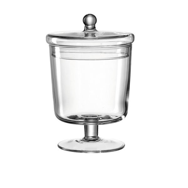 Poesia Glass Storage Tin Medium