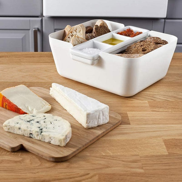 Bread and Dips Serving Set