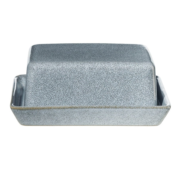 Seasons Butter Dish - Denim