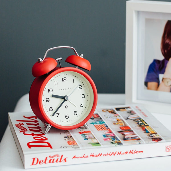 Charlie Bell Echo Alarm Clock - Engine Red