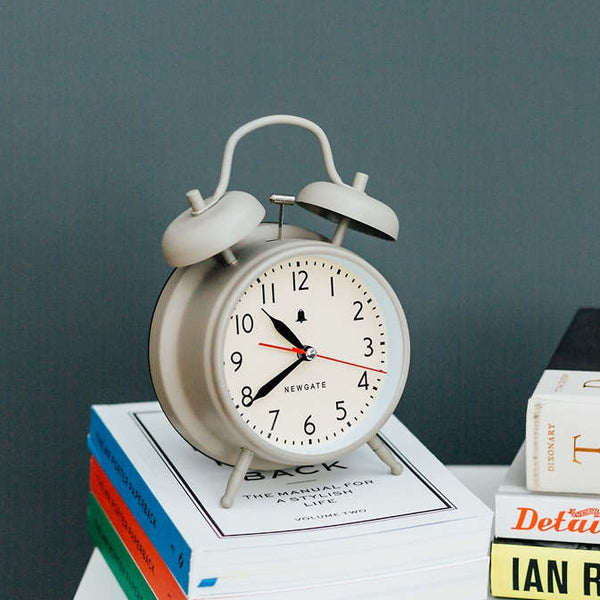 Covent Garden Alarm Clock - Matt Grey