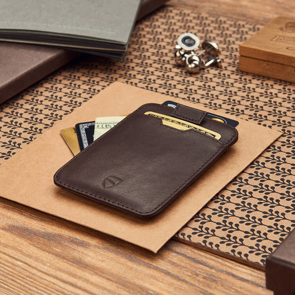 Chelsea Sleeve Wallet - Brown RFID