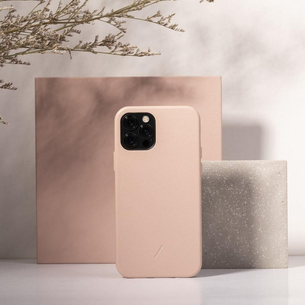 Clic Classic Case for iPhone 12 & 12 Pro - Rose
