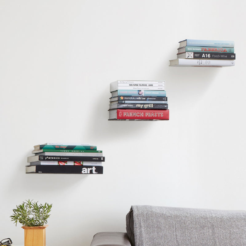 Conceal Wall Shelves, Set of 3