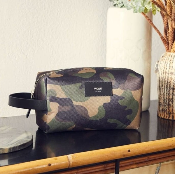Camouflage Travel Case