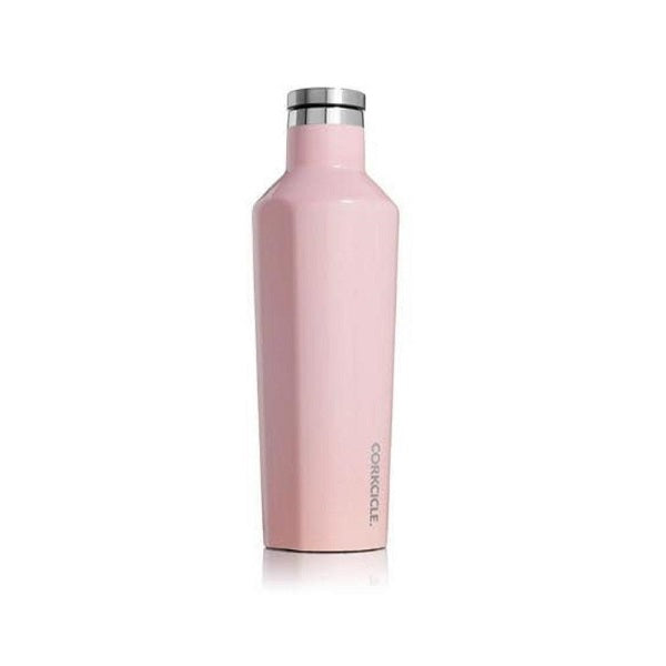 Insulated Canteen 750ml - Gloss Rose Quartz
