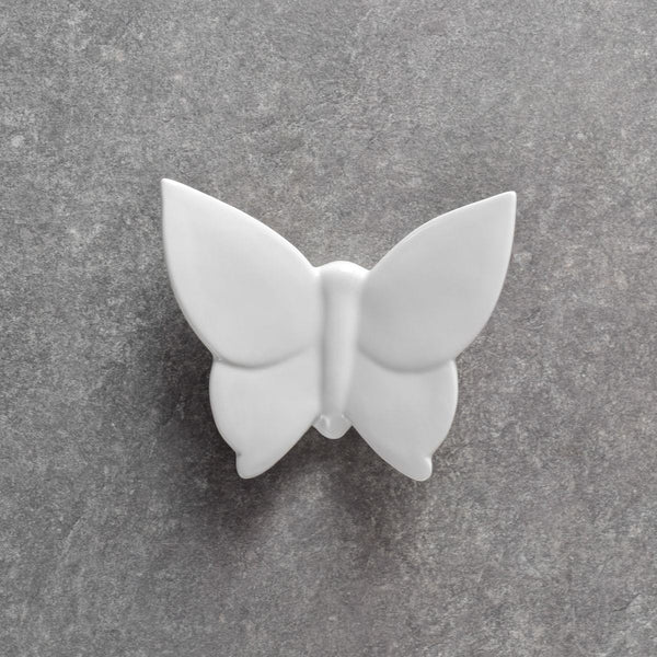 Cassidy Butterfly Wall Sculptures, Set of 3 - White