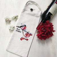 Charming & Quirky Wine Bags, Set of 3