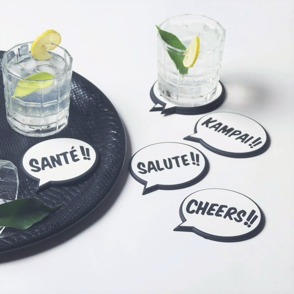 Cheers Coasters, Set of 6