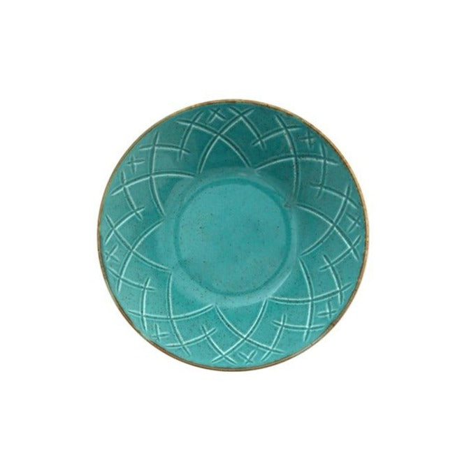 Christina Serving Bowl - Turquoise Blue