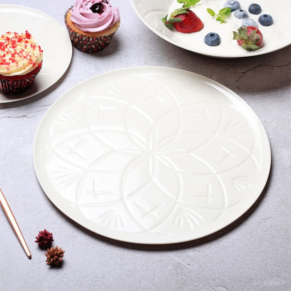 Christina Dinner Plate - Vista White