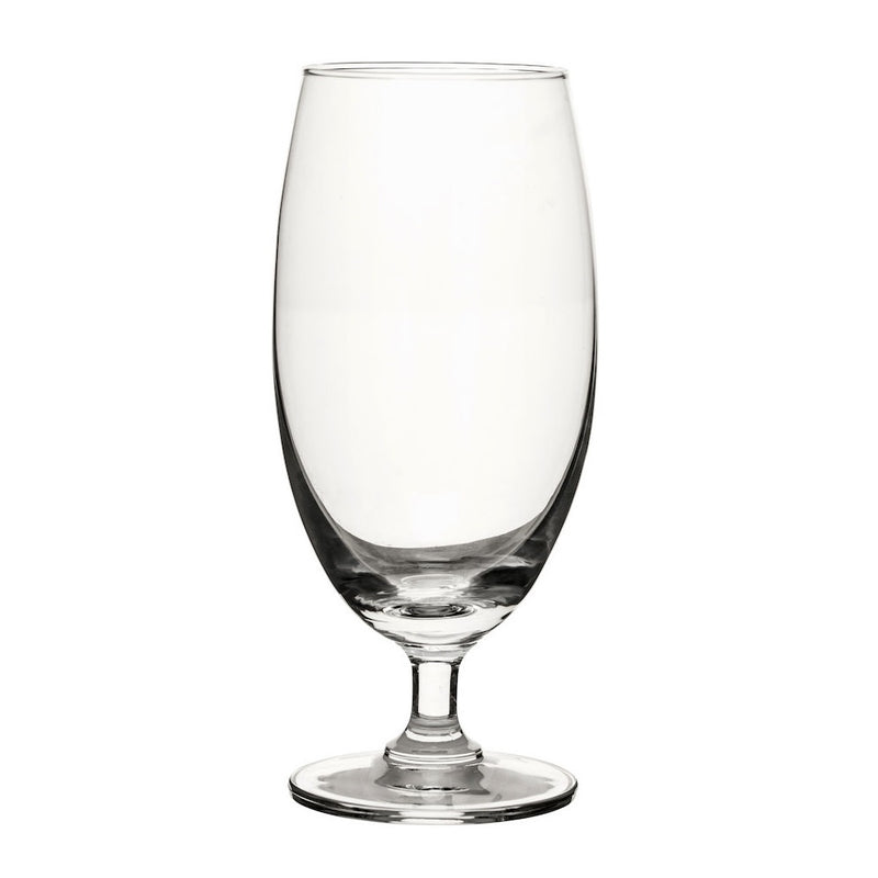 Club Collection Beer Glasses, Set of 2