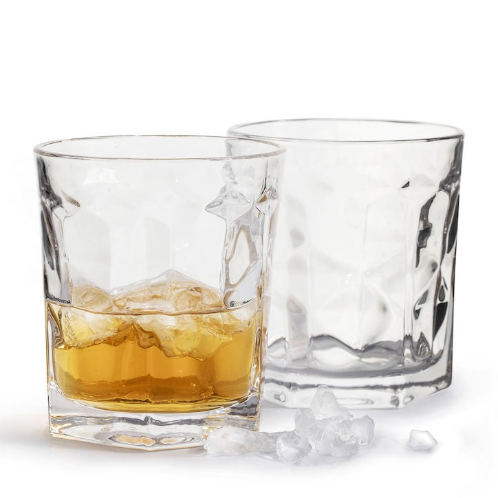 Club Collection Whiskey Tumblers, Set of 2