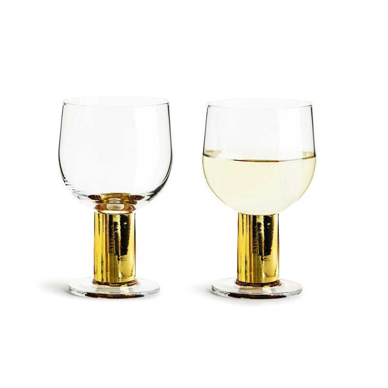 Club Gold All Purpose Glasses, Set of 2