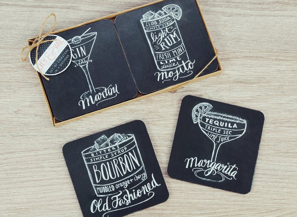 Lily Val Coasters - Modern Quests