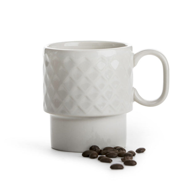 Coffee and More Mug - White