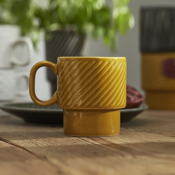 Coffee and More Mug - Yellow