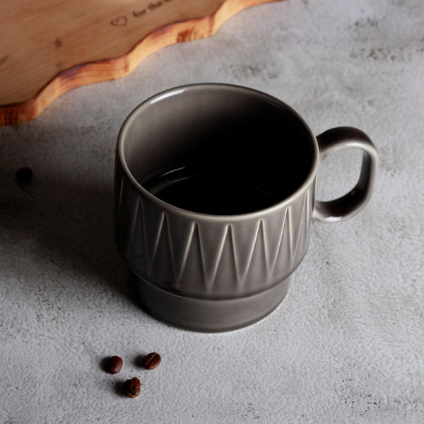 Coffee and More Tea Mug - Grey