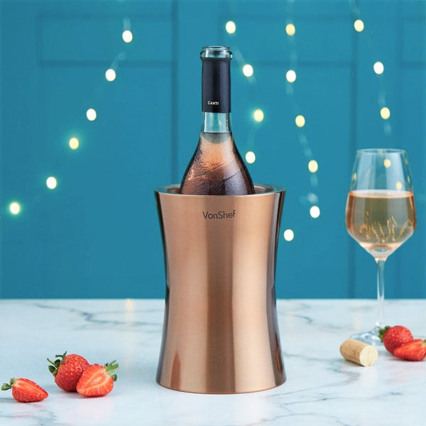Double Wall  Wine Cooler - Copper