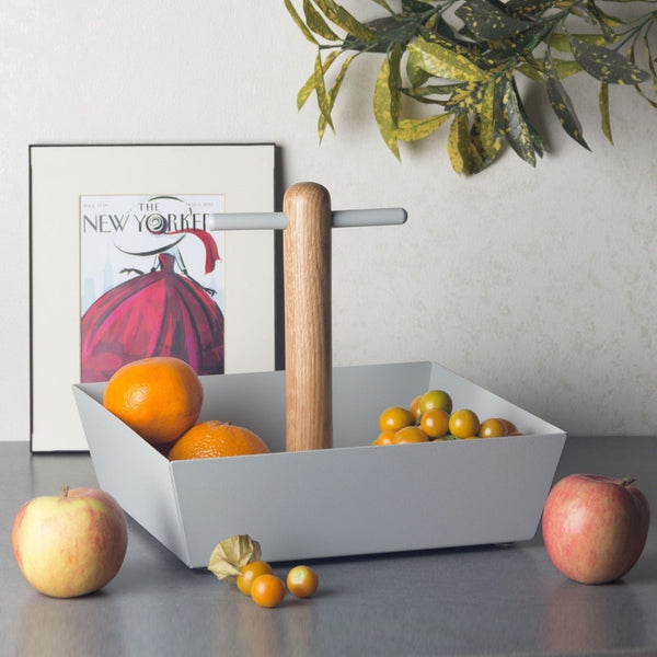 Cora Fruit Tray - Warm Grey