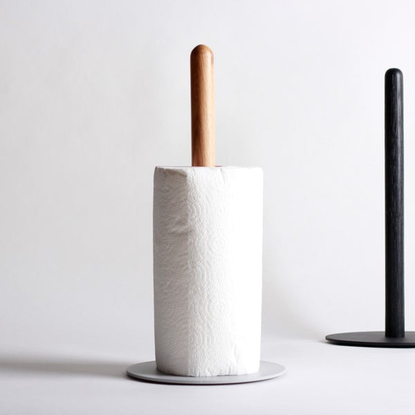 Cora Paper Towel Holder - Warm Grey