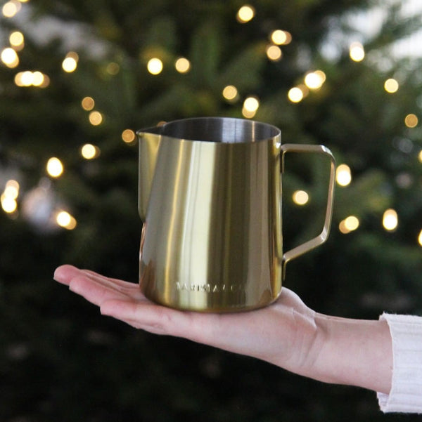 Core Milk Jug Large - Gold